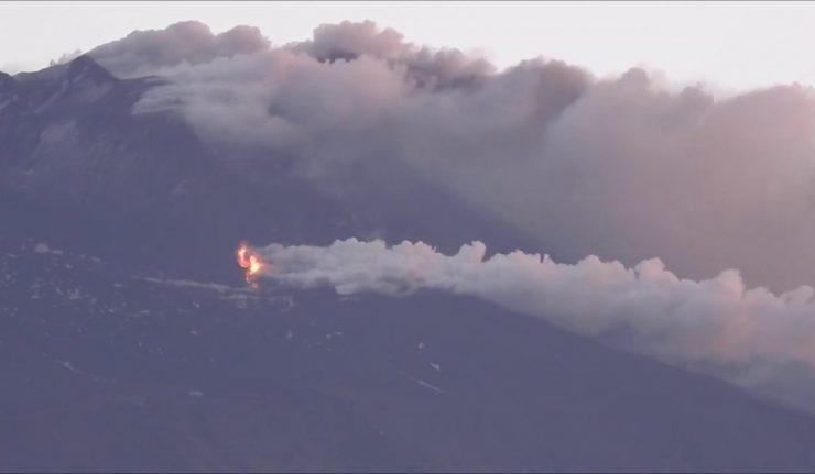 Etna, 30 maggio 2019. Nuovo Cratere di Sud-Est
