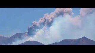 27 luglio 2019, nuova spettacolare eruzione dell'Etna