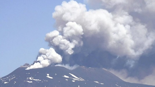 Etna - the powerful parosysm