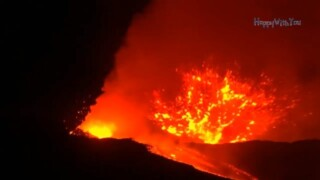 Etna Volcano In Province of Catania Italy Erupted May 30, 2019