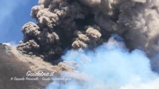 Etna Eruption 27 July 2019