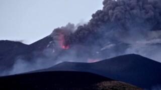Etna. Eruzione 27 luglio 2019.