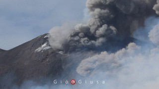 ETNA ERUPTION 27 JULY 2019