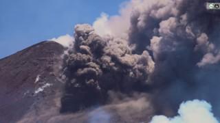 Etna Eruption - 27/7/2019